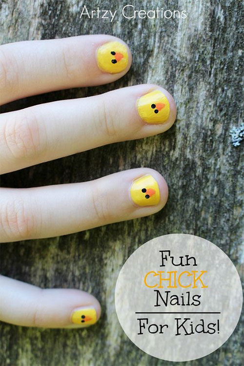 15-Easter-Chick-Nail-Art-Designs-Ideas-Stickers-2016-15