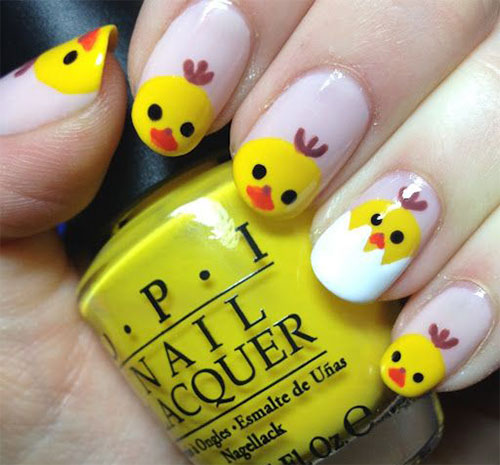 15-Easter-Chick-Nail-Art-Designs-Ideas-Stickers-2016-2