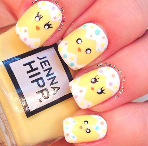 15-Easter-Chick-Nail-Art-Designs-Ideas-Stickers-2016-4