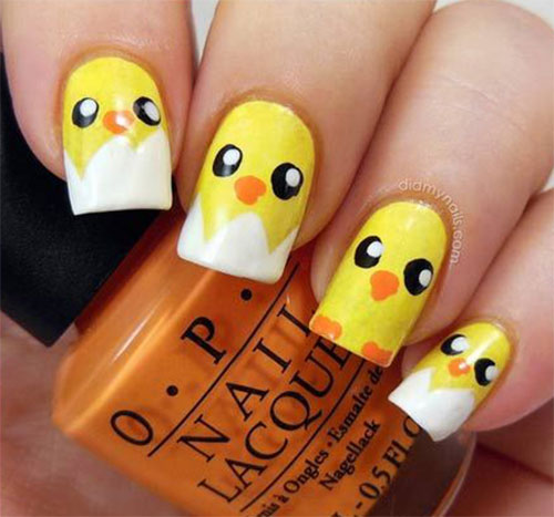 15-Easter-Chick-Nail-Art-Designs-Ideas-Stickers-2016-5