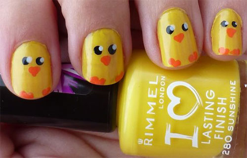 15-Easter-Chick-Nail-Art-Designs-Ideas-Stickers-2016-8