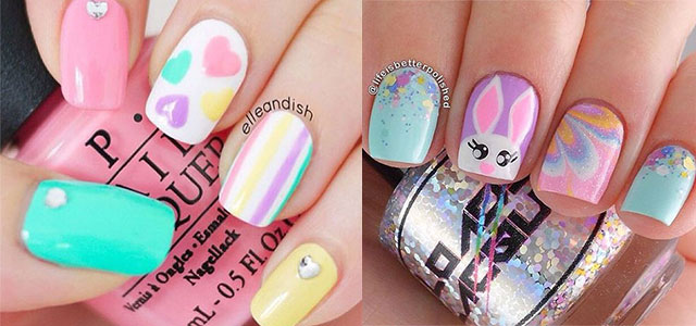 15 Easter Color Nail Art Designs Ideas Stickers 2016 Fabulous