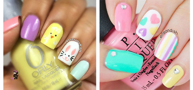 15+ Easy Easter Nail Art Designs, Ideas, Trends & Stickers 2016 | Fabulous Nail  Art Designs - 15+ Easy Easter Nail Art Designs, Ideas, Trends & Stickers 2016