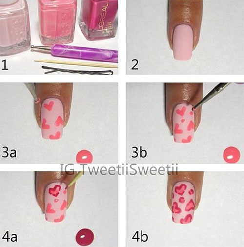 15-Step-By-Step-Valentines-Day-Nail-Art-Tutorials-For-Beginners-2016-11