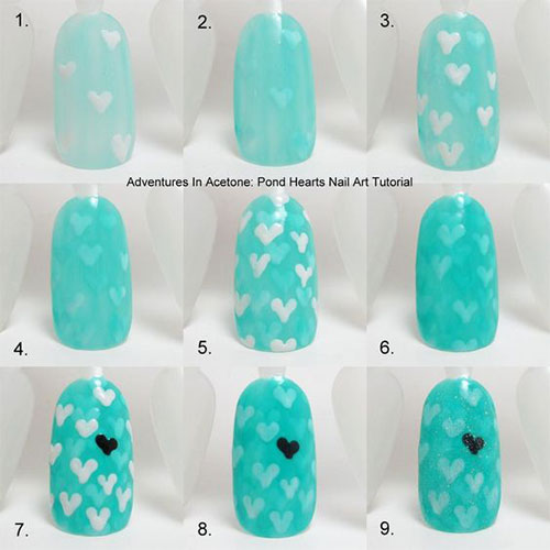 15-Step-By-Step-Valentines-Day-Nail-Art-Tutorials-For-Beginners-2016-13