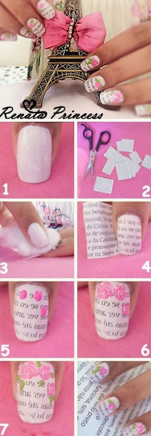 15-Step-By-Step-Valentines-Day-Nail-Art-Tutorials-For-Beginners-2016-6