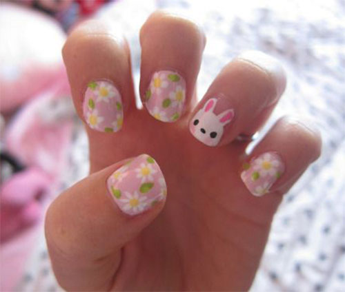 Easter Nail Art Designs - 50 Best Easter Nail Art Designs, Ideas, Trends & Stickers 2016