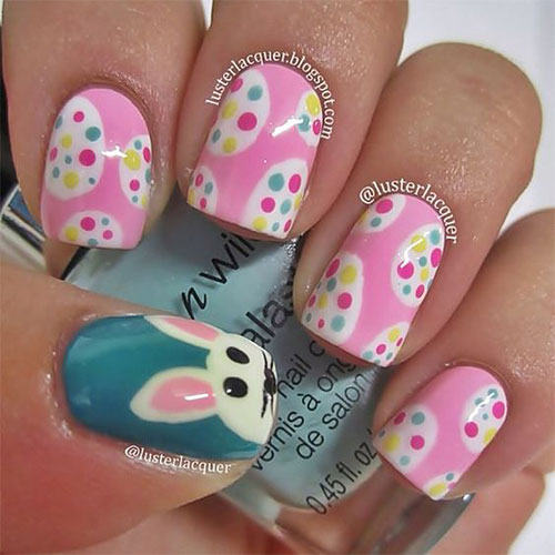 Nailart 2016 Trends: 50 Best Easter Nail Art Designs, Ideas, Trends & Stickers