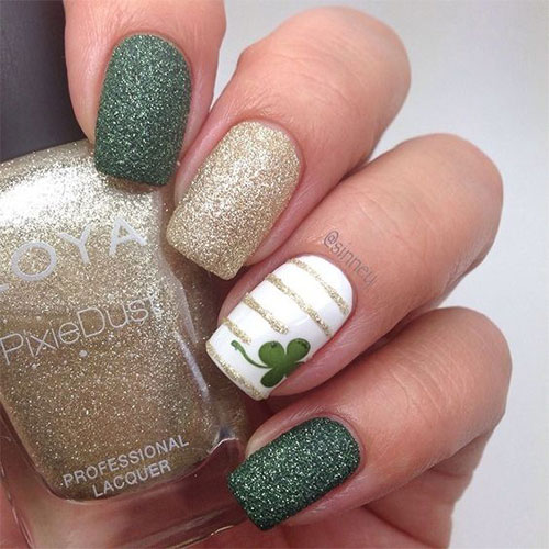 50+ Best St. Patrick39;s Day Nail Art Designs, Ideas, Trends amp; Stickers