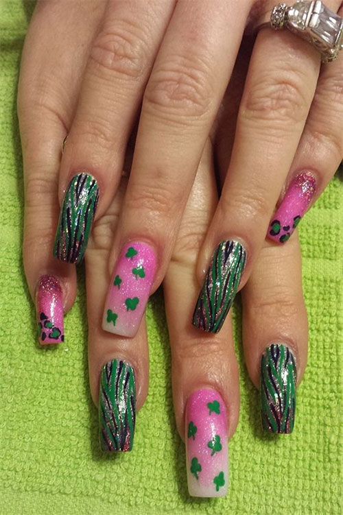 50+ Best St. Patrick\'s Day Nail Art Designs, Ideas, Trends ...