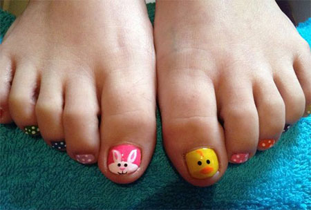 12-Easter-Toe-Nail-Art-Designs-Ideas-2016- - 12 Easter Toe Nail Art Designs & Ideas 2016 Fabulous Nail Art