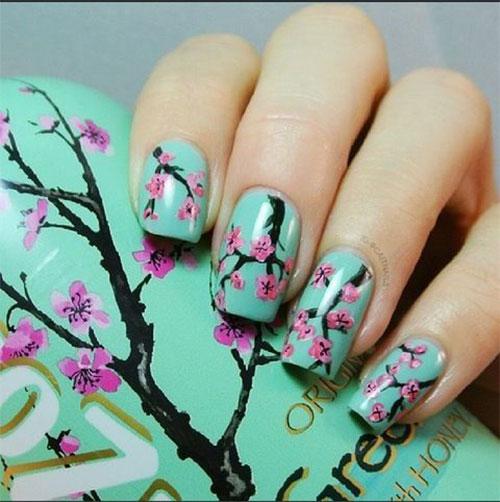 15-Cherry-Blossom-Spring-Nail-Art-Designs-Ideas-2016-16