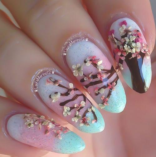 15-Cherry-Blossom-Spring-Nail-Art-Designs-Ideas-2016-17