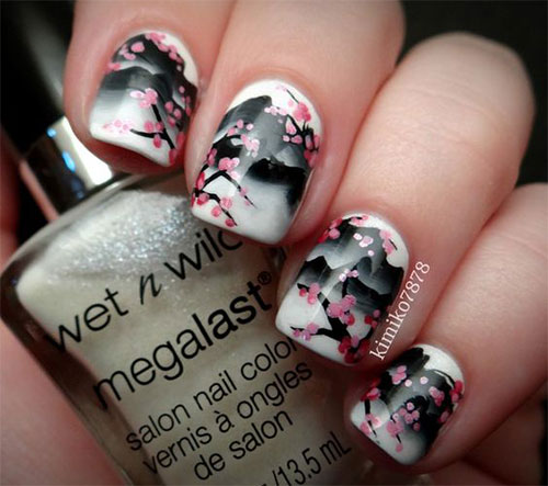 15-Cherry-Blossom-Spring-Nail-Art-Designs-Ideas-2016-4