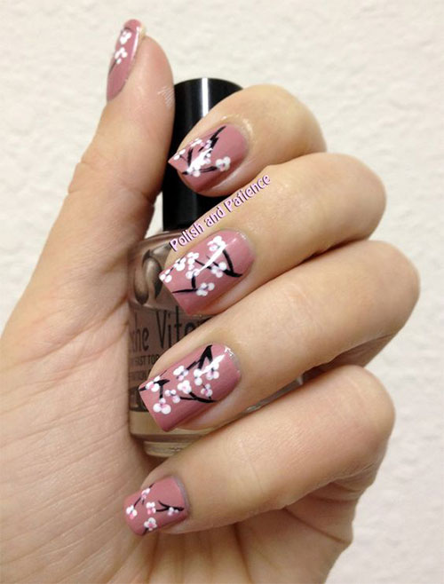 15 cherry blossom spring nail art designs ideas 2016 fabulous 15 cherry blossom spring nail art designs ideas prinsesfo Gallery