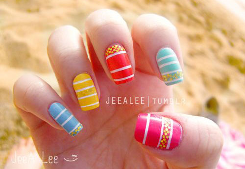 15-Simple-Easy-Spring-Nail-Art-Designs-Ideas-Stickers-2016-10