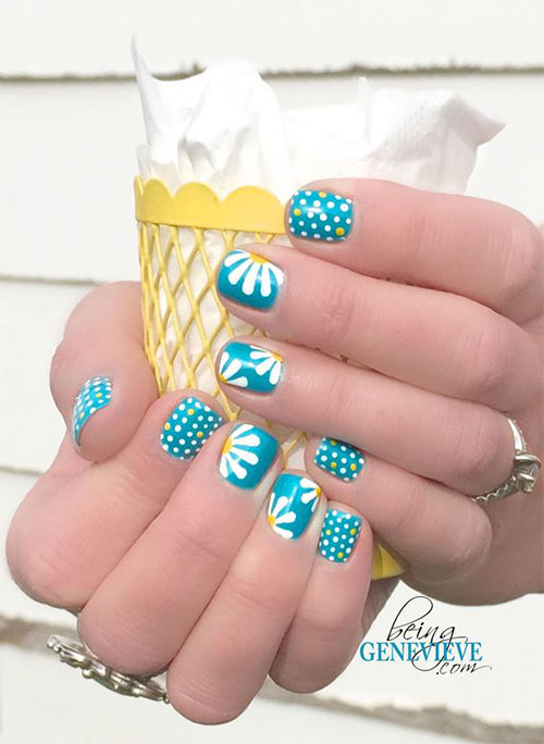 15 spring gel nail art designs  ideas  u0026 stickers 2016
