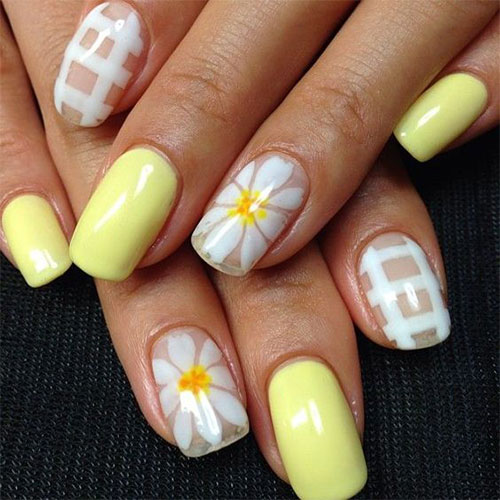 15 spring gel nail art designs ideas stickers 2016