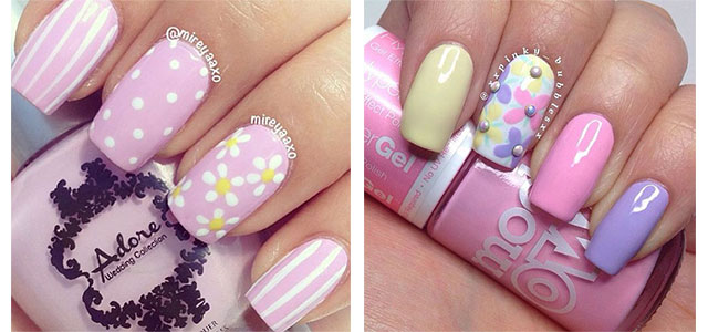 15 Spring Gel Nail Art Designs, Ideas & Stickers 2016 | Fabulous ...