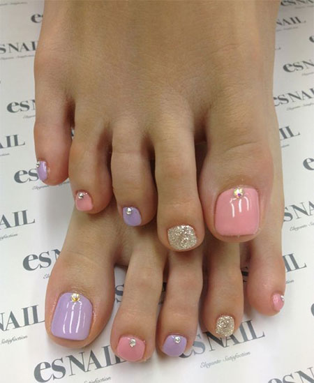 Spring Toe Nail Designs : Spring toe nail art designs ideas stickers