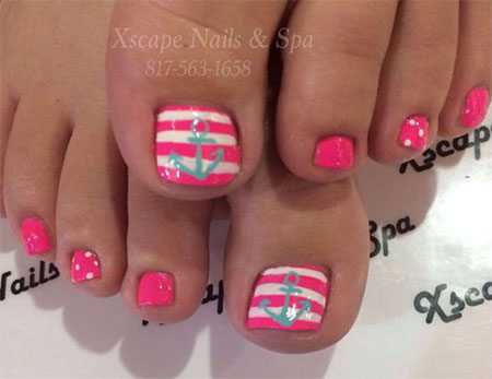 15-Spring-Toe-Nail-Art-Designs-Ideas-Stickers-2016-8