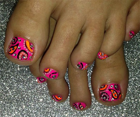 15-Spring-Toe-Nail-Art-Designs-Ideas-Stickers-2016-9