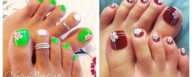 15-Spring-Toe-Nail-Art-Designs-Ideas-Stickers-2016-F