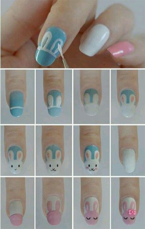 18-Easter-Nail-Art-Tutorials-For-Beginners-Learners-2016-10
