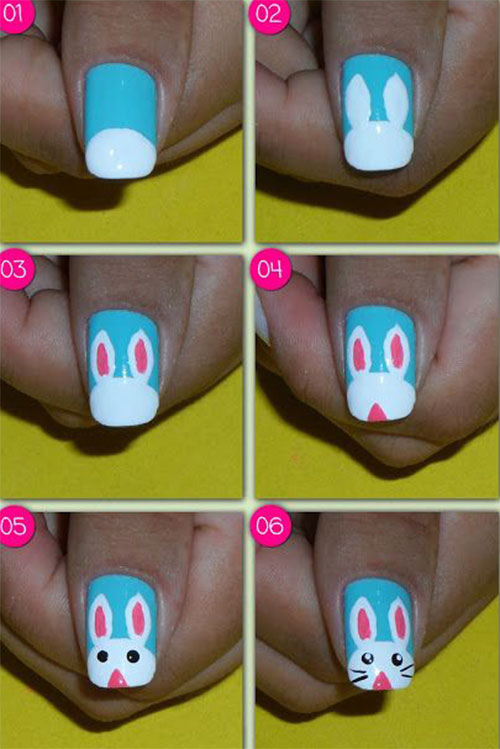 18+ Easter Nail Art Tutorials For Beginners & Learners 2016 ...