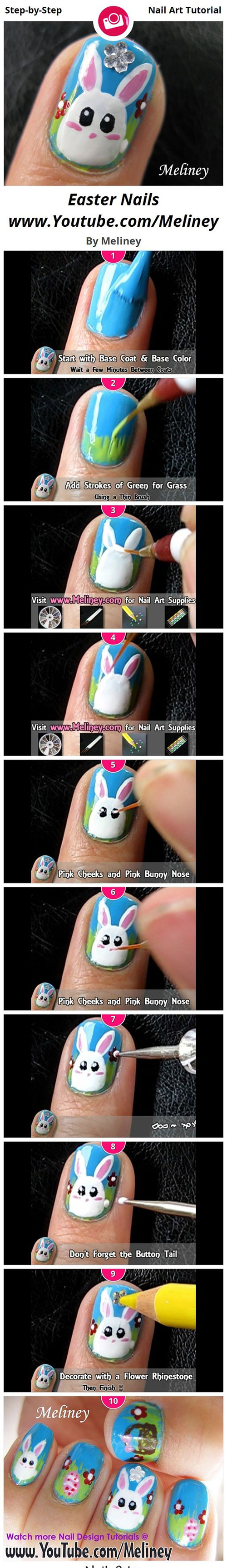 18-Easter-Nail-Art-Tutorials-For-Beginners-Learners-2016-17