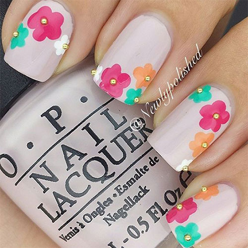 20 Spring Flower Nail Art Designs Ideas 2016 Fabulous Nail Art