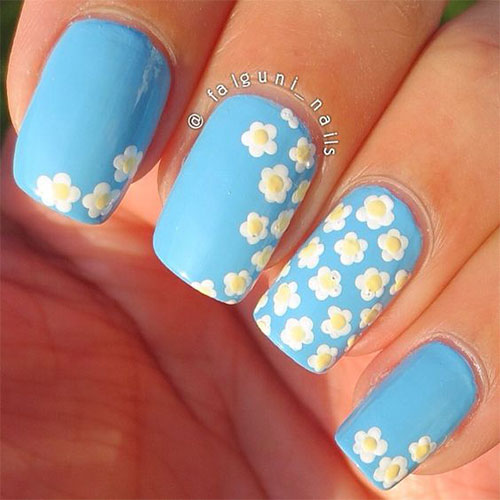 Art Designs: 20 Spring Flower Nail Art Designs & Ideas 2016