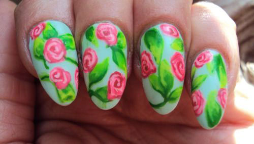 20 spring flower nail art designs ideas 2016