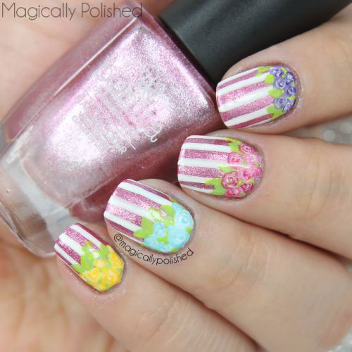 50 Beautiful Stylish And Trendy Nail Art Designs For: 50+ Best & Cute Spring Nail Art Designs, Ideas, Trends