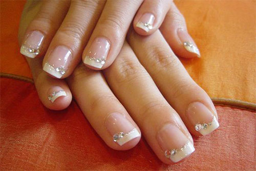 12-Gel-French-Tip-Glitter-Nail-Art-Designs-Ideas-2016-2