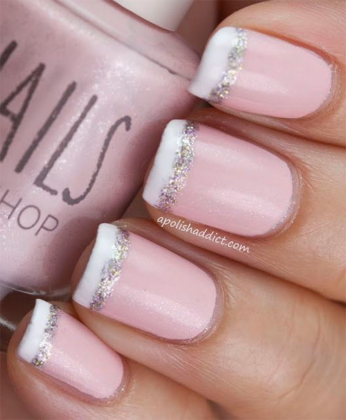 12-Gel-French-Tip-Glitter-Nail-Art-Designs-Ideas-2016-4