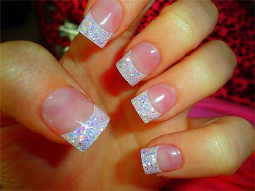 12-Gel-French-Tip-Glitter-Nail-Art-Designs-Ideas-2016-9