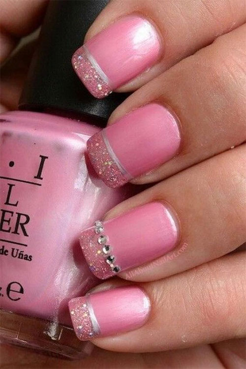 Gel Nails French Tip Designs Ideas 2016 Fabulous Nail Art Designs