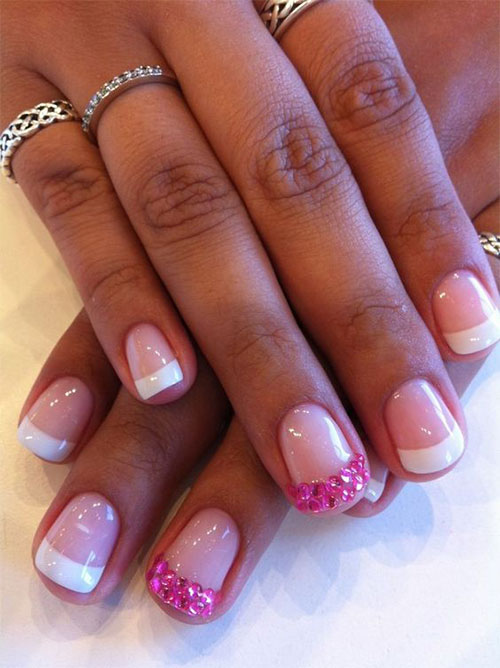12 gel nails french tip designs ideas 2016 - Nail Tip Designs Ideas