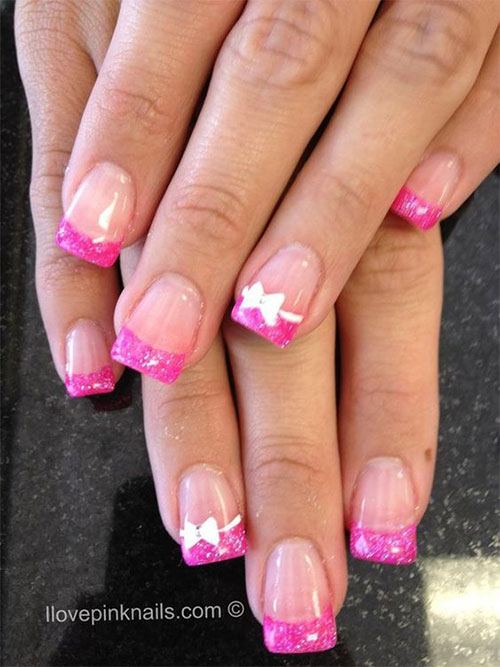 12-Gel-Nails-French-Tip-Designs-Ideas-2016-3