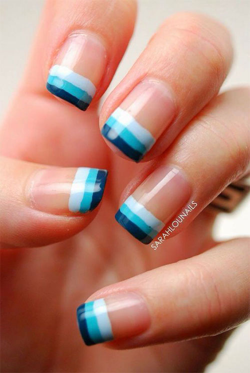 12+ Gel Nails French Tip Designs & Ideas 2016 | Fabulous Nail Art ...