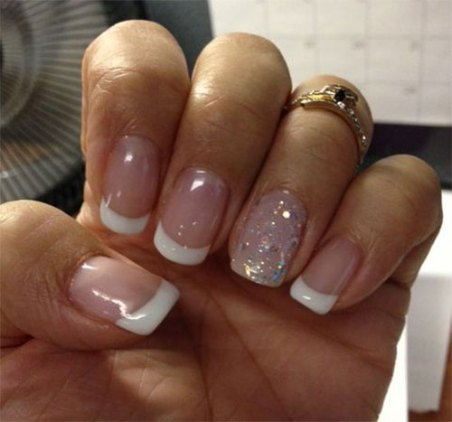 12 gel nails french tip designs ideas 2016 fabulous nail art - Gel Nails Designs Ideas