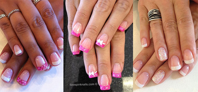 12+ Gel Nails French Tip Designs & Ideas 2016 | Fabulous Nail Art Designs - 12+ Gel Nails French Tip Designs & Ideas 2016 Fabulous Nail Art