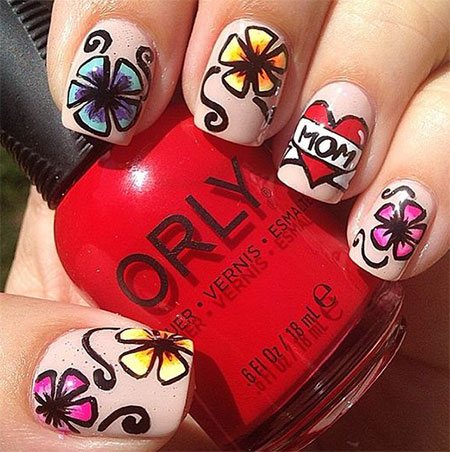 12-Happy-Mothers-Day-Nail-Art-Designs-Ideas-Stickers-2016-2