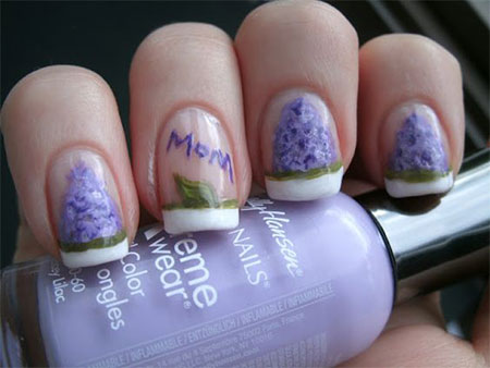 12 Hy Mothers Day Nail Art Designs Ideas
