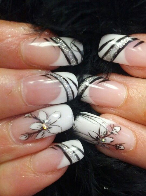 15-French-Black-Gel-Nail-Art-Designs-Ideas-2016-10
