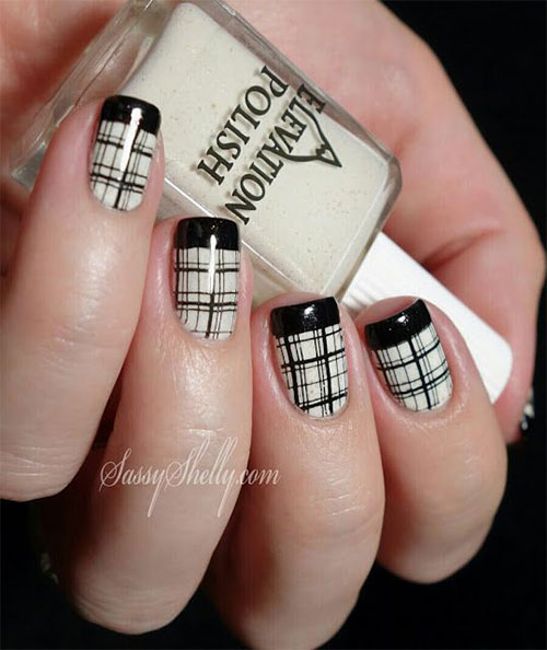 15-French-Black-Gel-Nail-Art-Designs-Ideas-2016-8