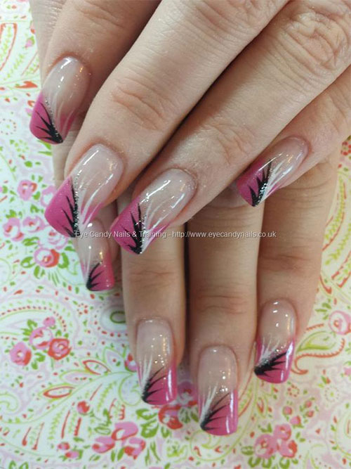 15-Gel-French-Pink-Nail-Art-Designs-Ideas-2016-Gel-Nails-3