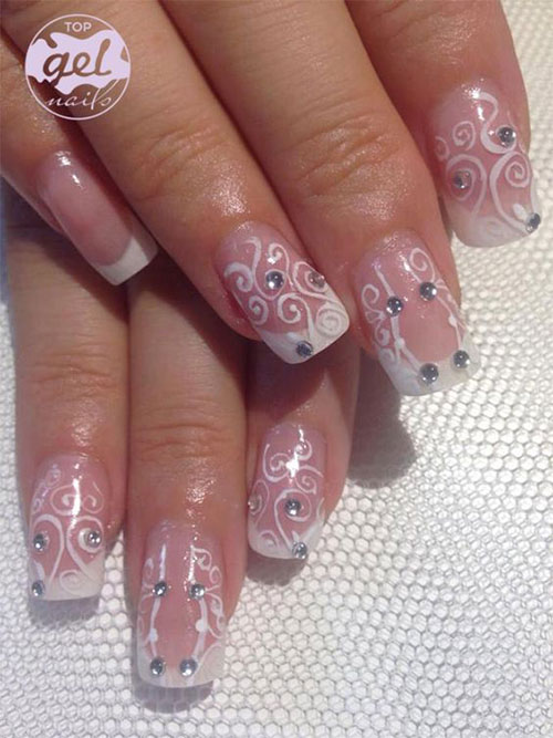 15-Gel-French-Pink-Nail-Art-Designs-Ideas-2016-Gel-Nails-6