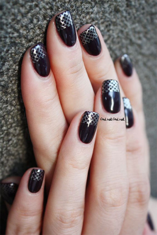 10-Black-Green-Gel-Nail-Art-Designs-Ideas-2016-3